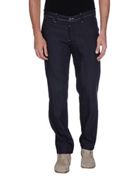 Thinple Trousers Casual Trousers Men Dark Blue