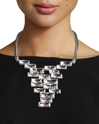 Crystal Cluster Bib Necklace Lafayette 148 New York