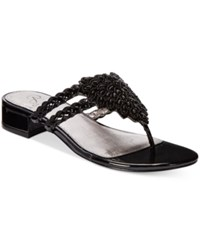 Adrianna Papell Delta Evening Sandals Women's Shoes Black