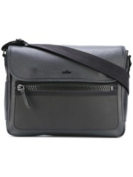 Hogan Flap Messenger Bag Black