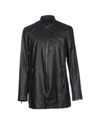 John Varvatos Overcoats Black