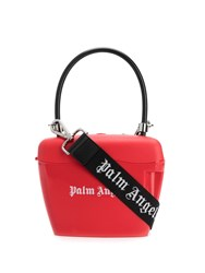 Palm Angels Padlock Tote Red