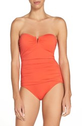 Tommy Bahama Women's 'Pearl' Convertible One Piece Swimsuit Valencia