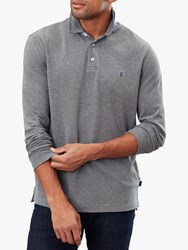 Joules Woodwell Polo Shirt Grey Marl