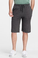 James Perse Men's Sweat Shorts Carbon Pigment