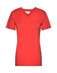 Pierre Darre' Darre T Shirts Red