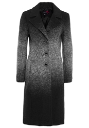 Comma Classic Coat Grey Dark Gray