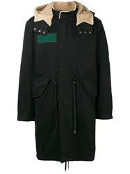 Mauro Grifoni Hooded Parka Black
