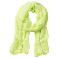 Betty Barclay Long Neon Scarf Lime Sorbet