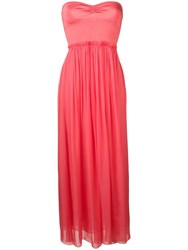 Forte Forte Coral Sleeveless Dress Pink