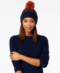 Rampage Colorblock Beanie Only At Macy's Mulberry Aubergine