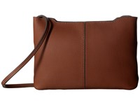Ecco Jilin Small Crossbody Cognac Cross Body Handbags Tan