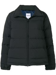 Aspesi Full Zip Down Jacket Black