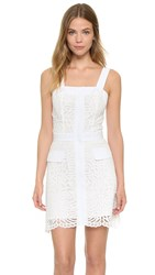 Amanda Uprichard Newport Lace Dress Cotton Lace