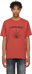 Adaptation Red Legalized Vintage T Shirt