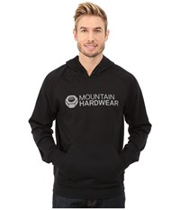 Mountain Hardwear Logo Graphic Pullover Hoodie Black Men's Sweatshirt