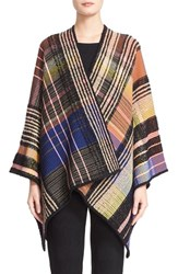 Women's Missoni Check Knit Wool Blend Shawl