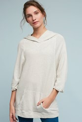 Anthropologie Felli Hooded Tunic Neutral