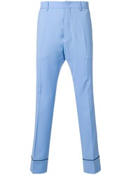 N 21 No21 Bootcut Tailored Trousers Blue