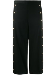 Versace Medusa Button Cropped Trousers 60