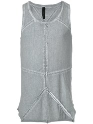 First Aid To The Injured Sphenoid Tank Top Grey