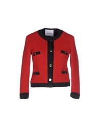 Ainea Coats And Jackets Jackets Women Red