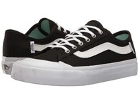 Vans Black Ball Sf Black White Bay Women's Lace Up Casual Shoes