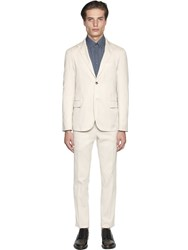 Boglioli Micro Textured Cotton Suit