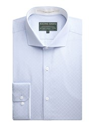 Racing Green Guild Dobby Formal Shirt Blue