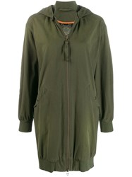 Mr And Mrs Italy Hooded Coat Green