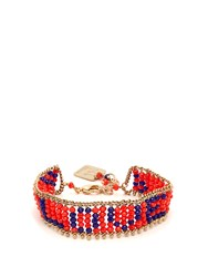 Rosantica By Michela Panero Love Beaded Bracelet Orange