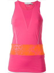Adidas By Stella Mccartney 'Climacool' Tech Tank Top Pink And Purple