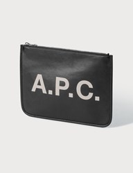 A.P.C. Morgan Clutch Black
