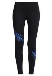 Gap Gfast Tights Blue Dot Black