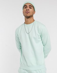 Soul Star Mix And Match Sweatshirt In Pastel Green
