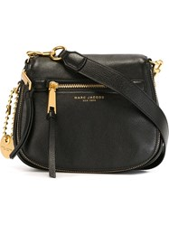 Marc Jacobs Small 'Recruit' Saddle Crossbody Bag Black