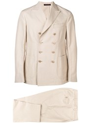 The Gigi Double Breasted Suit Neutrals