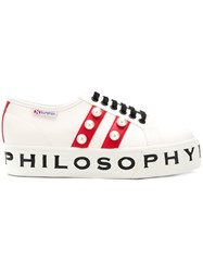 Philosophy Di Lorenzo Serafini Superga Sneakers White