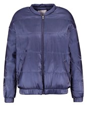 Selected Femme Sfvicky Bomber Jacket Ombre Blue