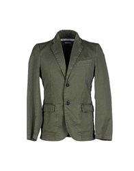 Department 5 Blazers Military Green