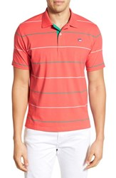 Men's Southern Tide 'Boardwalk Breton Stripe' Stretch Cotton Jersey Polo