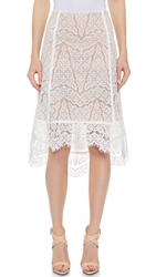 Veronica Beard Geo Lace Skirt