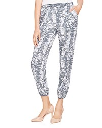 Soft Joie Morley Animal Print Joggers Cool Grey