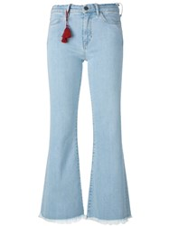 Mih Jeans Lou Customised By Alex Carl Blue