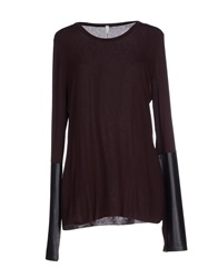 Pierantonio Gaspari T Shirts Dark Brown