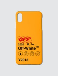 Off White Industrial Y013 Iphone Xs Max Case Yellow