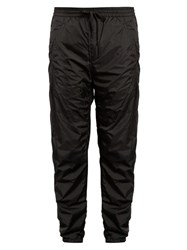 Alexander Wang Relaxed Fit Shell Track Pants Black