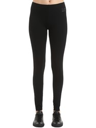Emporio Armani Train Evolution Cotton Leggings Black