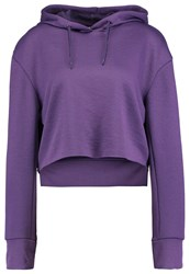 Cheap Monday Attract Hoodie Dusty Purple