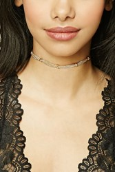 Forever 21 Chain Link Choker Gold